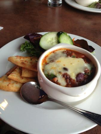 Palate Restaurant & Cafe: Chili Bowl