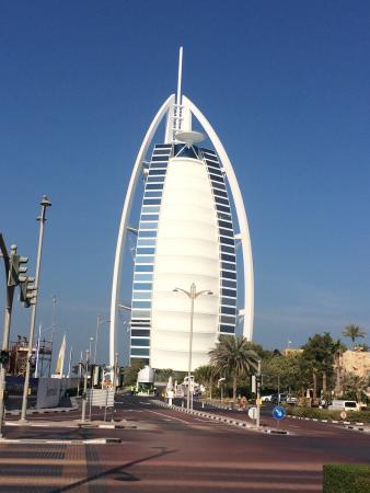 Via di accesso all 39 hotel picture of burj al arab dubai for Hotel di dubai