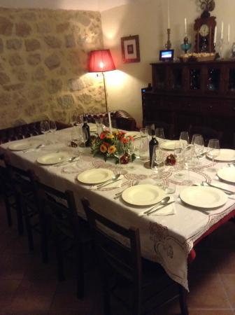 Borgo Tepolini: tavola di capodanno