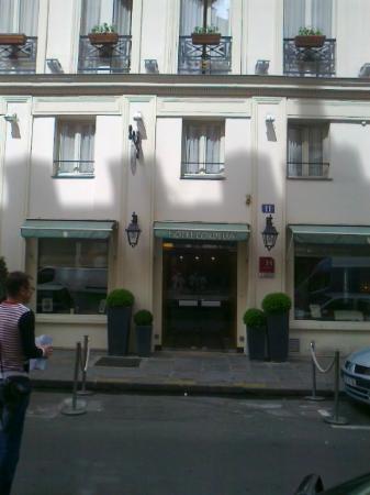 Hotel Cordelia: Вход в отель