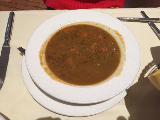 Aegean Restaurant : Lentil soup