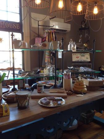 Town Kitchen & Provisions : Dining among the cool kitchen store