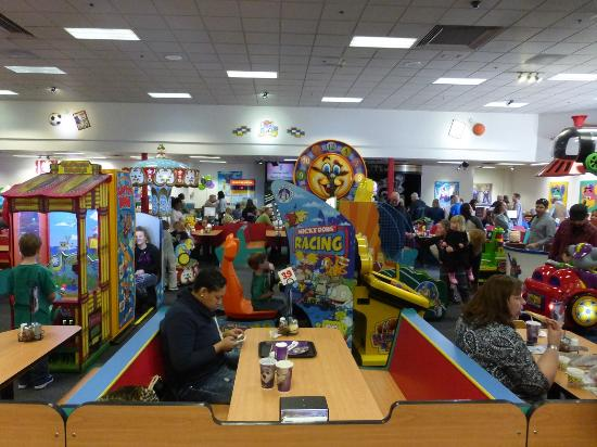 chuck e cheese s dover interior picture of chuck e cheese s