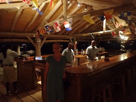Goatie's: Bar at Petit St Vincent