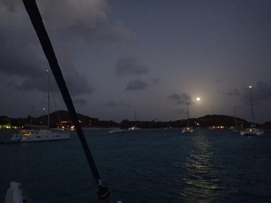 Goatie's: Petit St Vincent Under Full Moon
