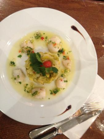 Cafe Juliette: Delicious meal - with fish