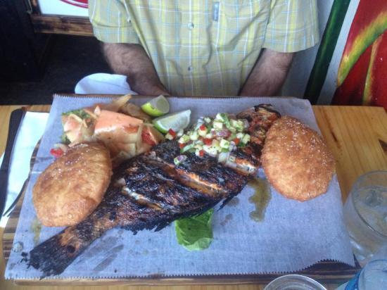 Seafood-stuffed Mofongo - Picture of La Estacion, Fajardo ...