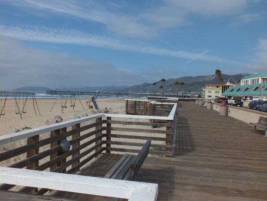 Pismo Coast Village Rv Resort The Beach And Boardwalk About 5 Minute Walk Away