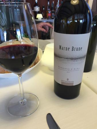 Ristorante del Monte: Il vino scelto