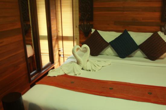 Baan Habeebee Resort: Swans!!