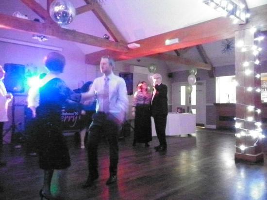 Hadley Park House Hotel: Function Room, dance floor