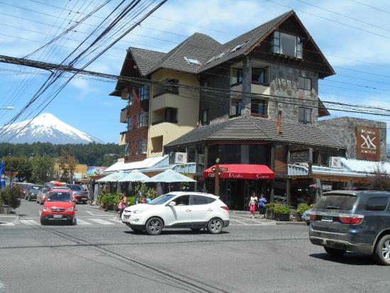Del Volcán Apart Hotel : Hotel