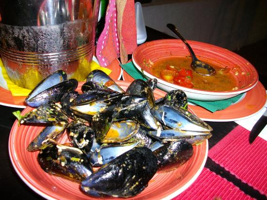 Peperoncino : the best mussels ever