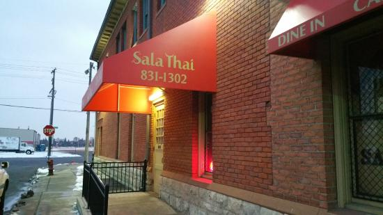 Entrance at Sala Thai Downtown Detroit