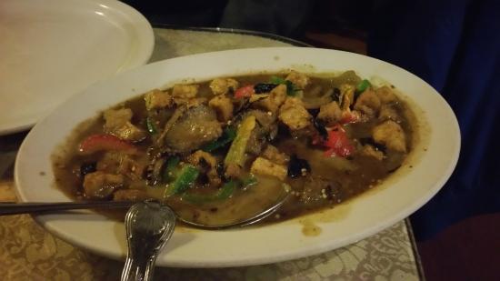 Chicken Curry Dish at Sala Thai Downtown Detroit