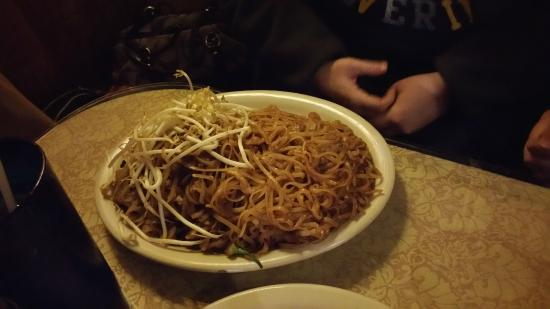 Noodle Dish at Sala Thai Downtown Detroit