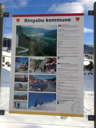 Jonsgard Seng & Frokost B&B: Information about slopes and trails