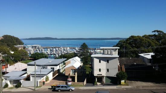 Port Stephens Marina Resort: View from room 307