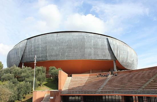Sale Parco Della Musica Roma : Cavea auditorium parco della musica