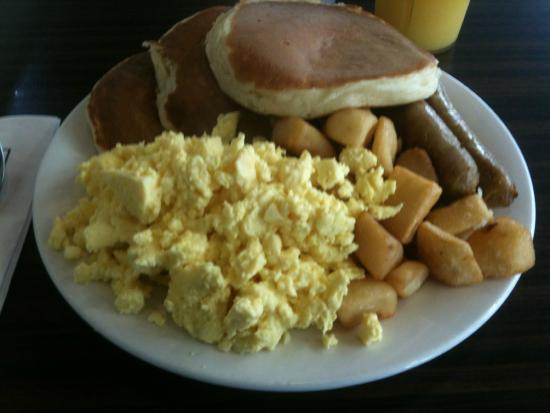 Golden Griddle: Scramble eggs, pancakes and more...