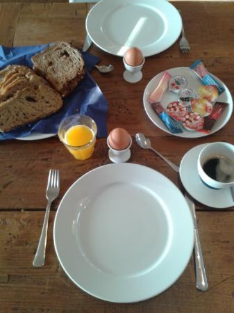 Amsterdam B&B Park9: breakfast