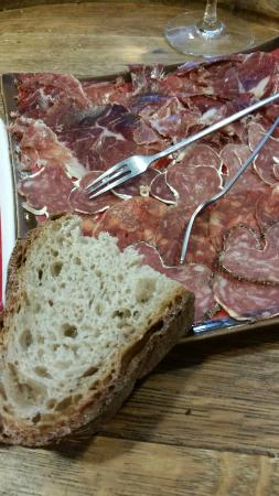 In Vino : Cold cut platter