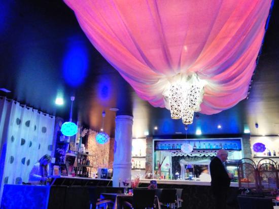 Luna Blue Lounge Bar: beautiful place