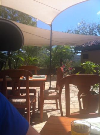 Terraza de Palermo Restaurant: Poolside dining