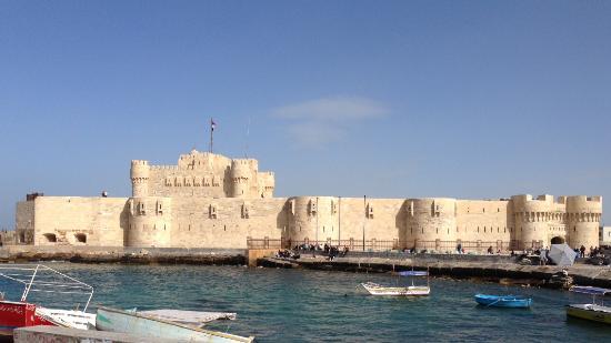 Fort Qaitbey: Außenansicht