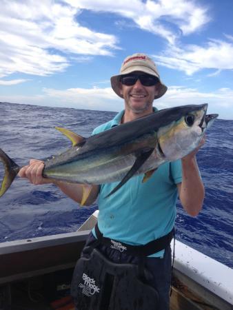 Marlin Queen Fishing Charters : Yellow Fin Tuna