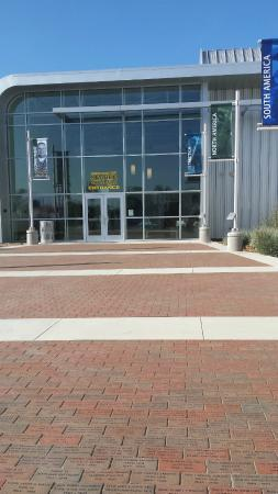 U.S. Navy Seabee Museum : Main Entrance to the Museum--Paved with Memorial Bricks