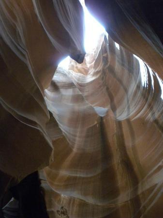 Carolene Ekis: antelope canyon tour
