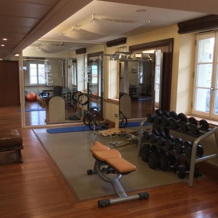 Gym With A View  Photo De Htel Du Palais Biarritz  Tripadvisor
