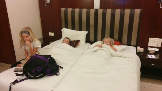 Hotel Suba Palace : mjuka bekväma sängar!