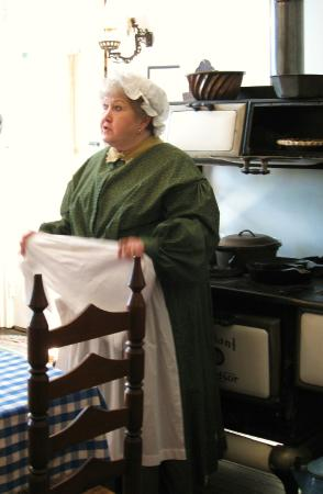 Benjamin Harrison Presidential Site : The Harrisons' cook