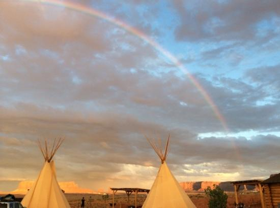 View of the Valley from our tipi