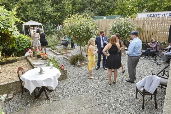 West End House Restaurant: Back Garden (private event)