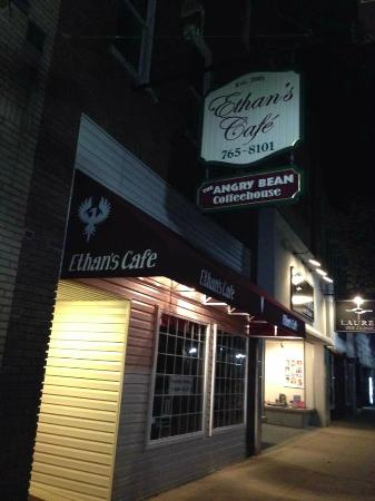 Ethan's Cafe at Night