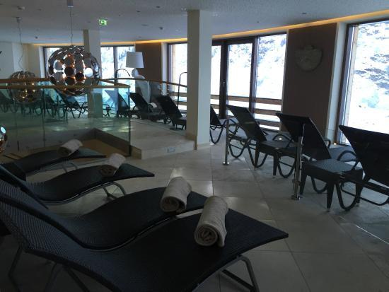 Hotel Bergwelt: Spa area