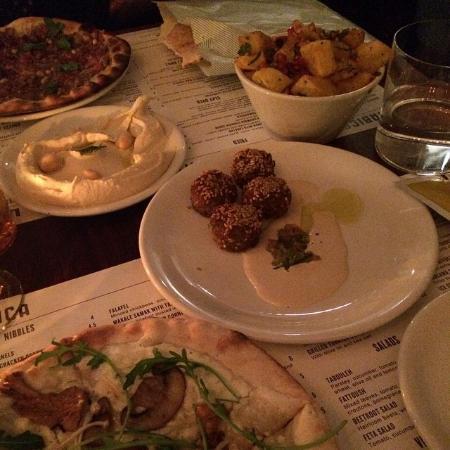 Mezze feast picture of arabica bar kitchen london for Arabica mediterranean cuisine