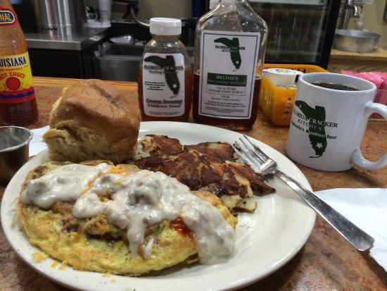 Cracker omlet - Picture of Florida Cracker Kitchen, Brooksville ...