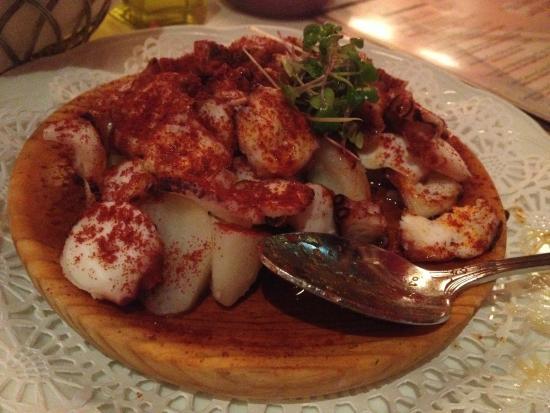 Taberna Del Alabardero : Octopus