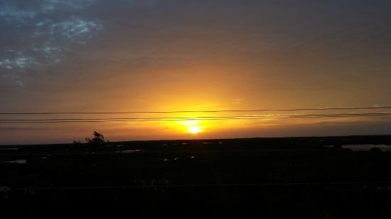 La Perla Del Caribe : Sunset From Roof Top Sundeck