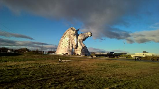 Falkirk, UK: Kelpies 2