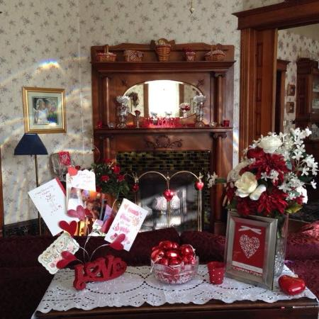 Garden Gate Bed and Breakfast : Ready for Valentine's Day