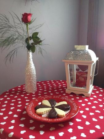 Garden Gate Bed and Breakfast : Valentine treats