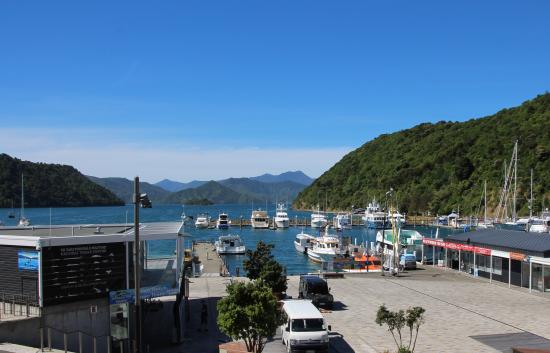 Harbour View Motel Picton: view from apartment balcony