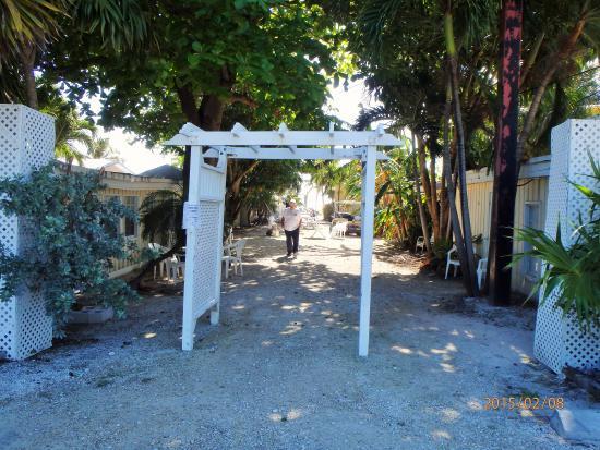 entrance to Bonefish Resort