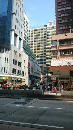 The Salvation Army - Booth Lodge: From across nathan road.