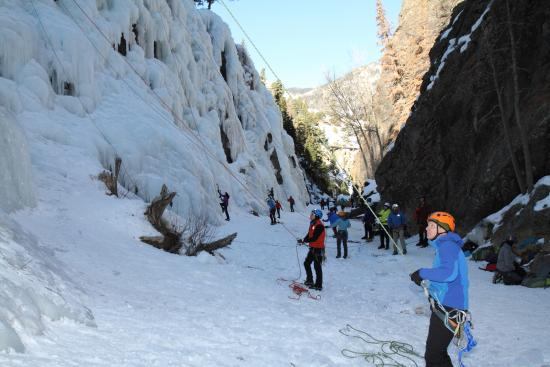 Ouray Ice Park: Our group